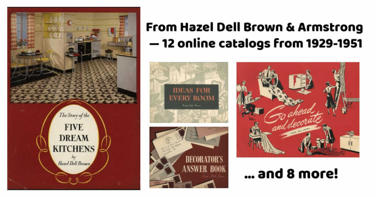 hazel dell brown linoleum