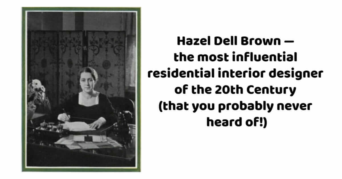 hazel dell brown