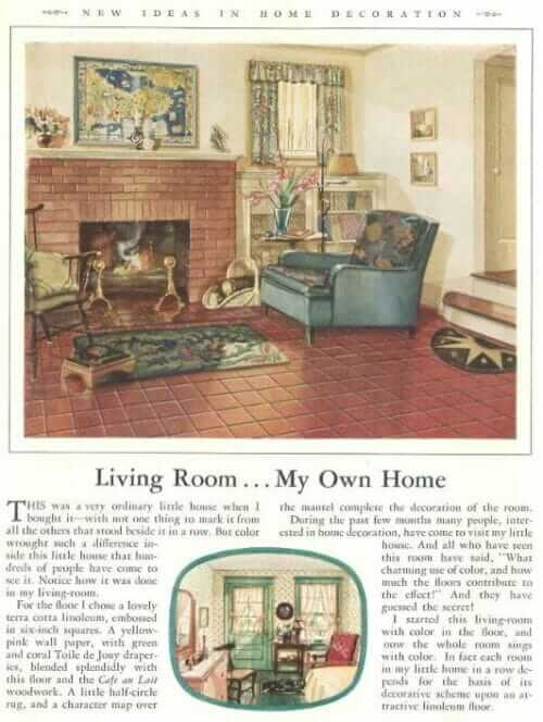 hazel dell brown living room
