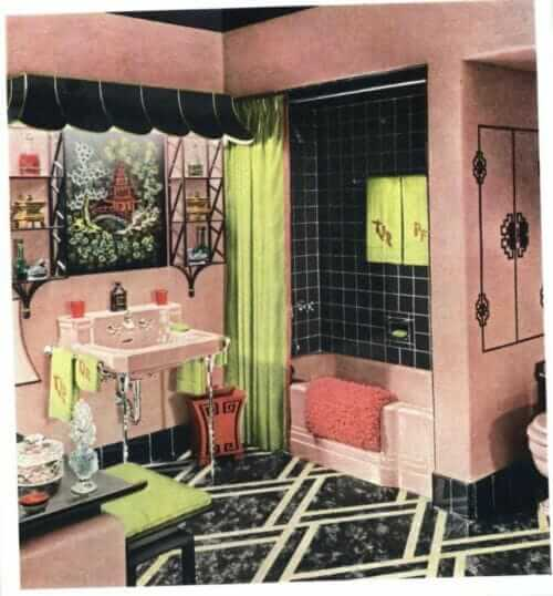 pink bathroom hazel dell brown