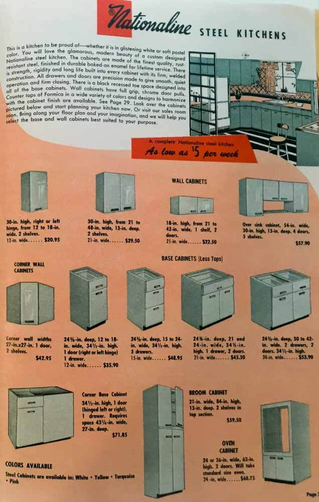 nationaline steel kitchen cabinets