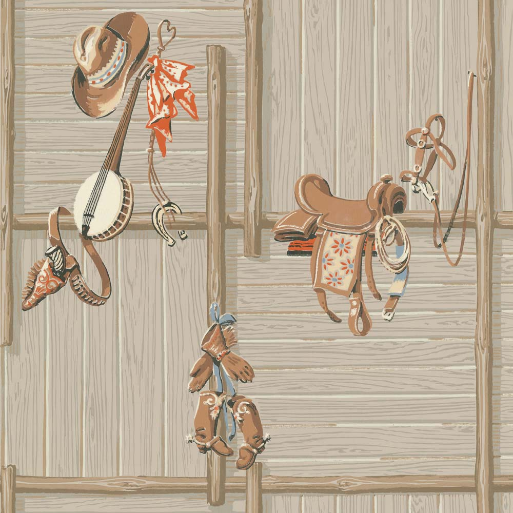 reproduction wild west wallpaper