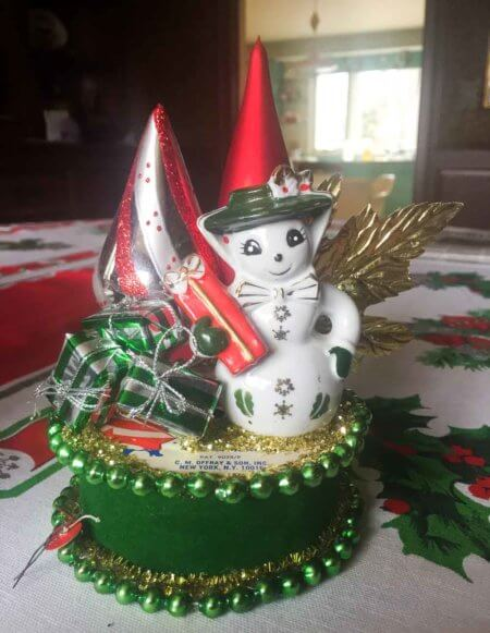 easy vintage christmas DIY craft