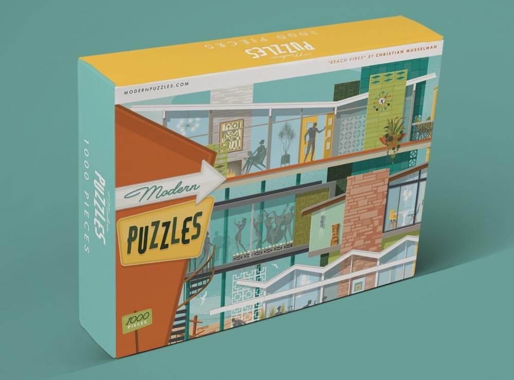midcentury modern puzzle