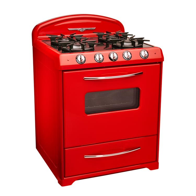 red northstar retro stove