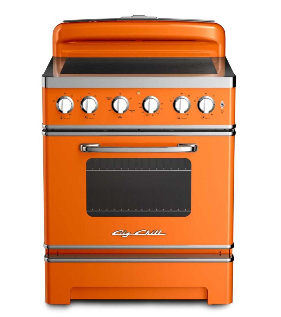 orange retro range from big chill
