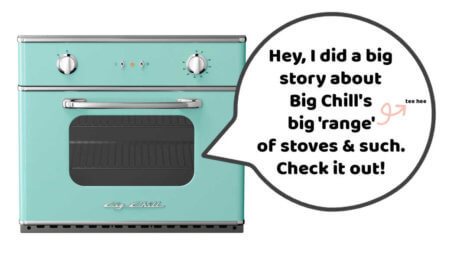 midcentury stoves from big chill