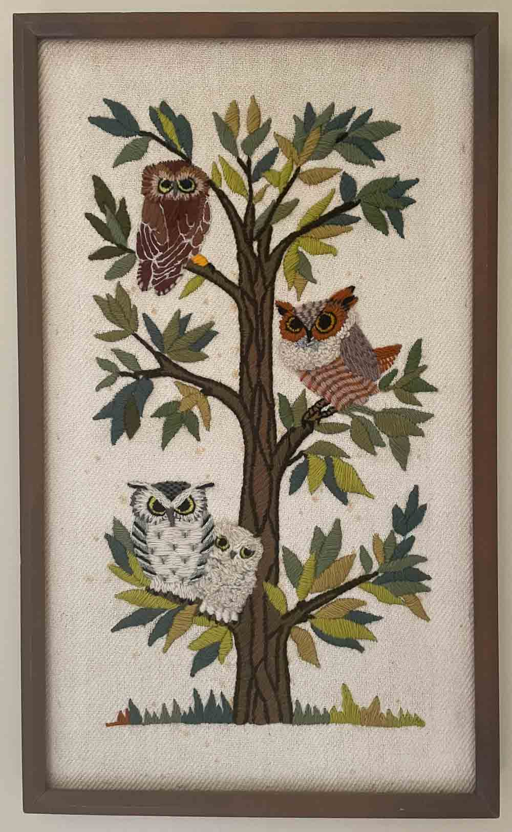 erica wilson owl kit