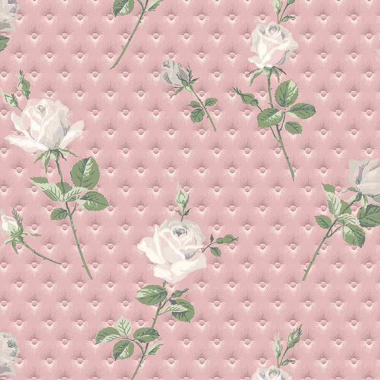 quilted 1950s wallpaper