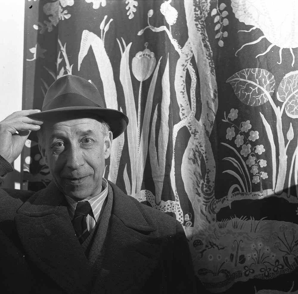 Josef_Frank_Med_Hatt_Foto_Lennart_Nilsson_1952