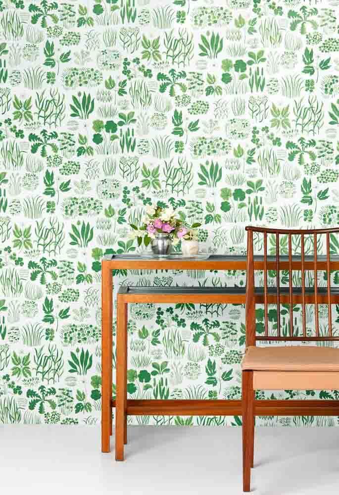 Svenskt_Tenn_Wallpaper_Söndagsmorgon_Green_02