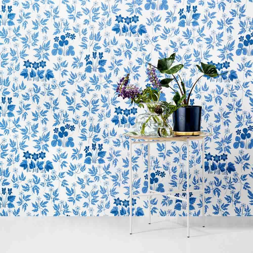 Svenskt_Tenn_Wallpaper_Stjärnmattan_Blue_02