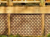 mid century modern wood work