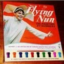sally field as the flying nun vintage paint by numbers