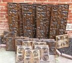 witco tiki wall panels NOS