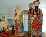 large vintage china figurines