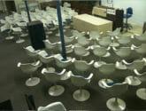krueger tulip chairs