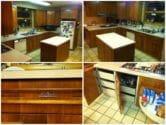 vintage st charles wood cabinets
