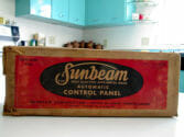 pam kueber's new old stock sunbeam automatic control panel