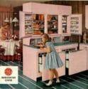 vintage GE refrigerator