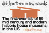 mid century house museums
