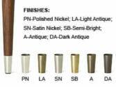 furniture leg-tip-finishes