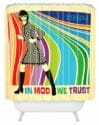 mod shower curtain