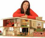 midcentury dollhouse
