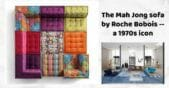 mah jong sofa by roche bobois
