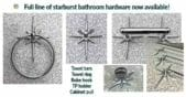 starburst bathroom hardware